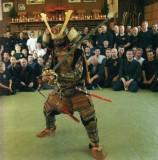 Soke Hatsumi- in armour